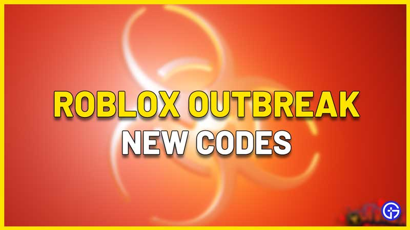 Roblox Outbreak Codes