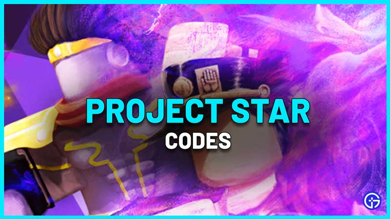 Project Star Codes Roblox