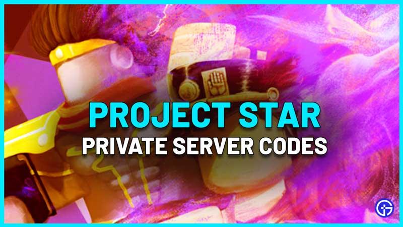 Project Star Private Server Codes VIP
