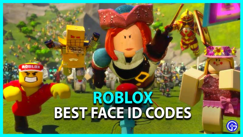 Roblox Face ID Codes