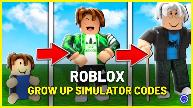 Grow Up Simulator Codes