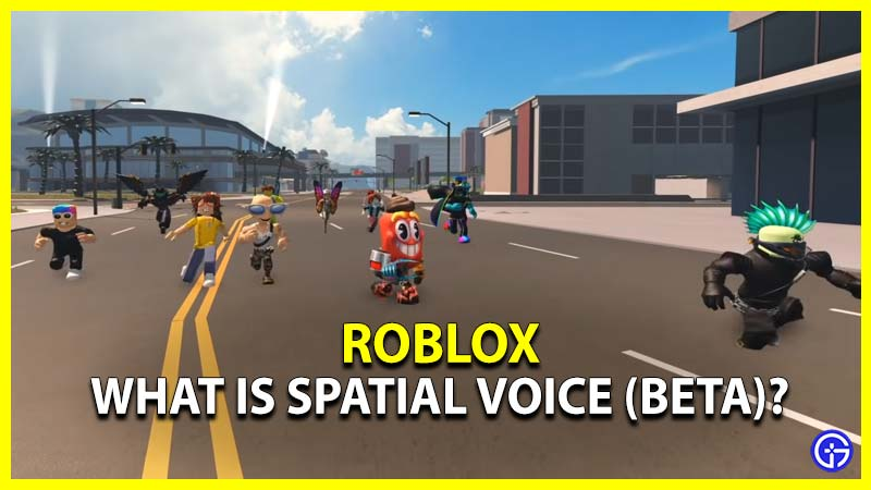 Spatial Voice Chat Roblox