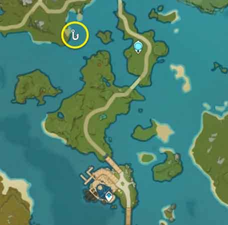 Spot Fishing Locations Genshin Impact 06