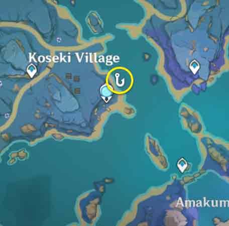 Spot Fishing Locations Genshin Impact 19