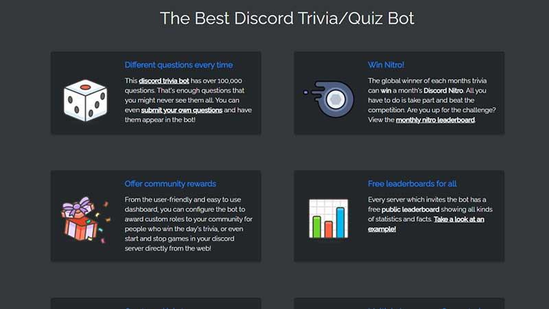triviabot quiz bot discord