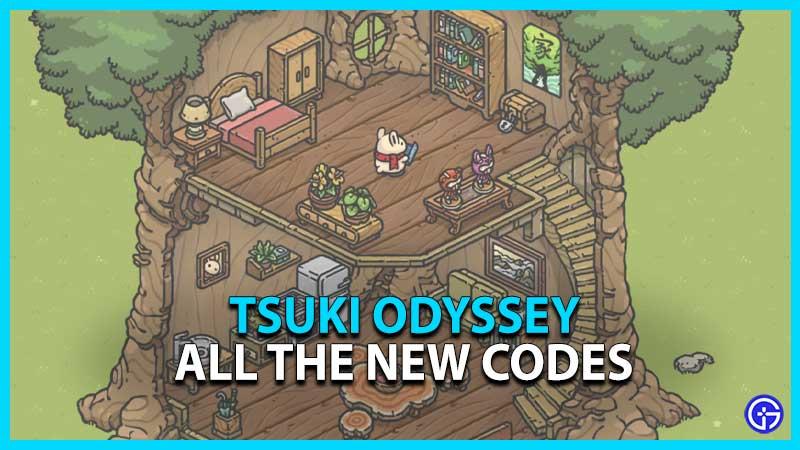 Tsuki Odyssey Codes