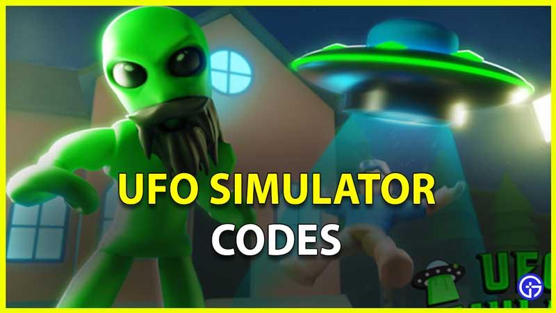 UFO Simulator Codes