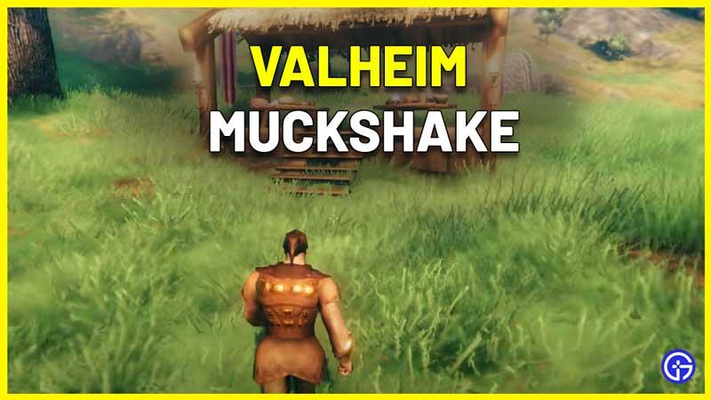 valheim how to craft muckshake