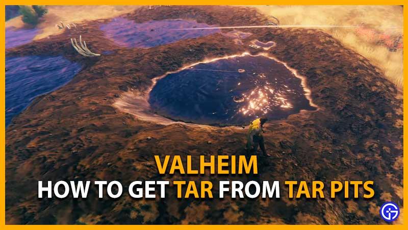 Valheim Tar Pits
