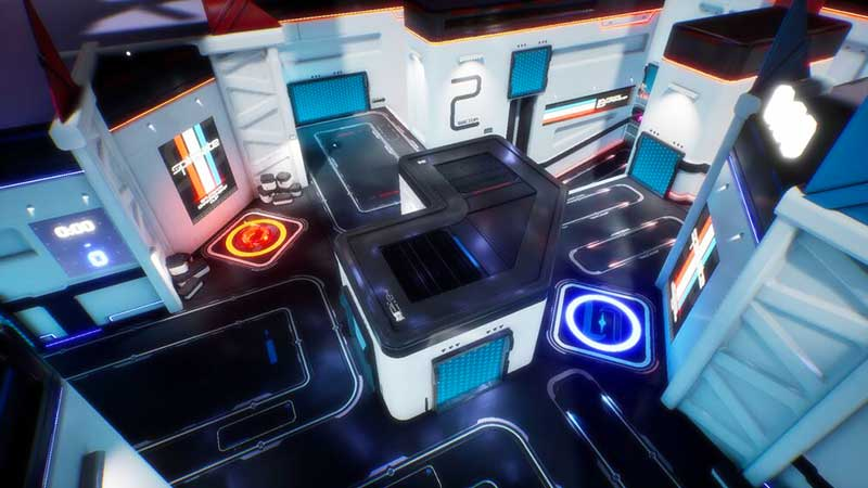 What Are the Available Splitgate Simulation Maps