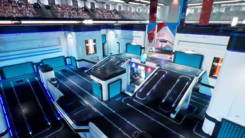 What is a Simulation Map in Splitgate