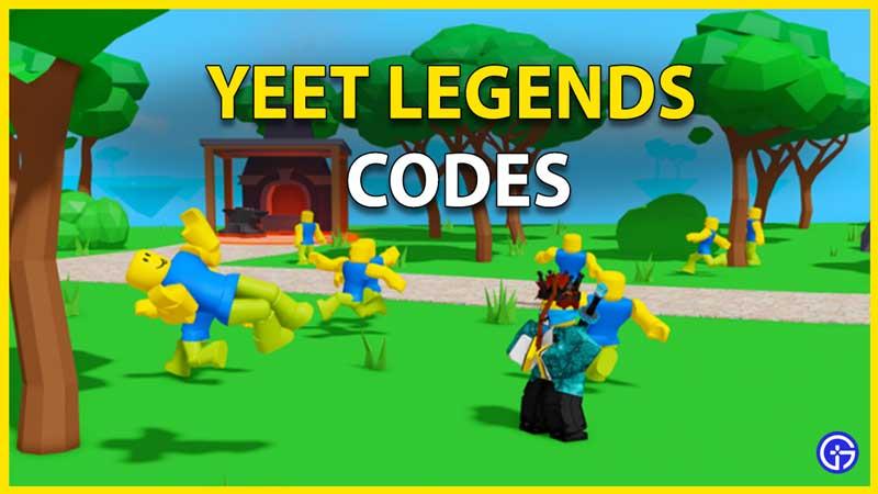 Yeet Legends Codes
