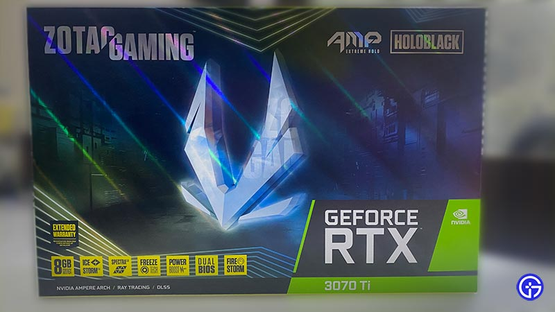 ZOTAC Gaming GeForce RTX 3070 Ti AMP Extreme Holo Review