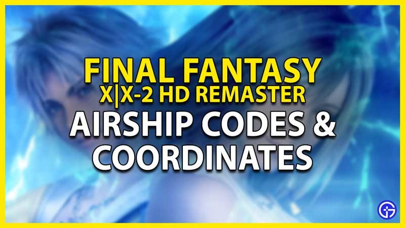 airship codes in ffx