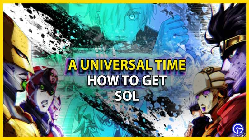 how to get sol aut