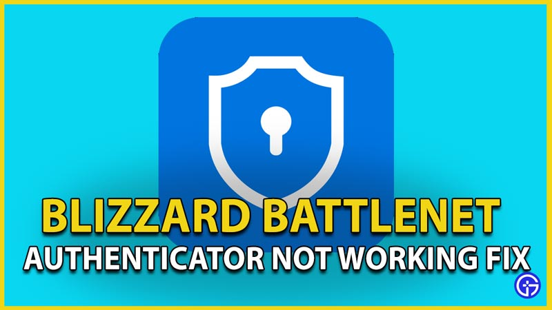 battlenet authenticator not working