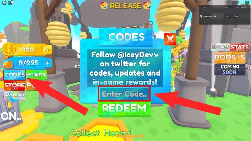 bee farm codes