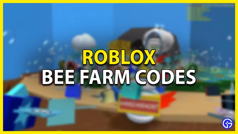 bee farm codes roblox