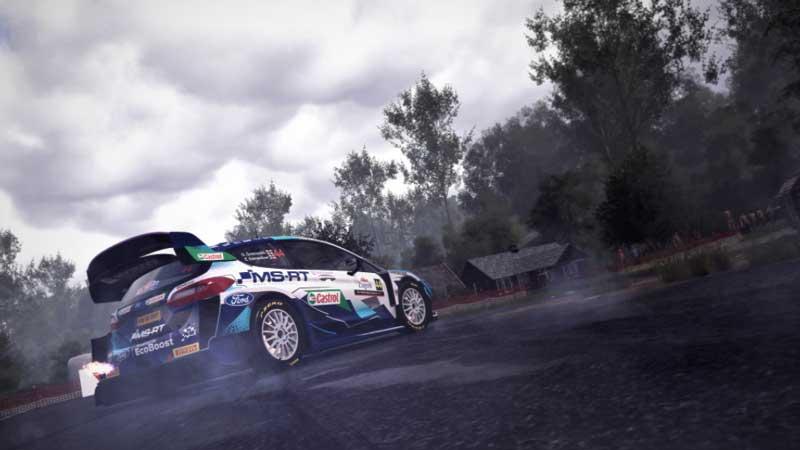 WRC 10 Fanatec Controller Settings