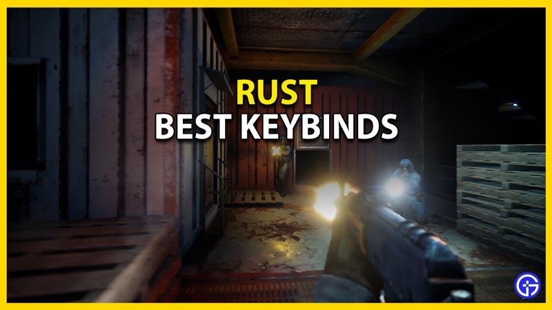 best keybinds for rust
