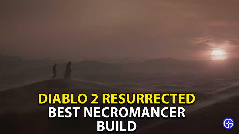 best necromancer build diablo 2 resurrected
