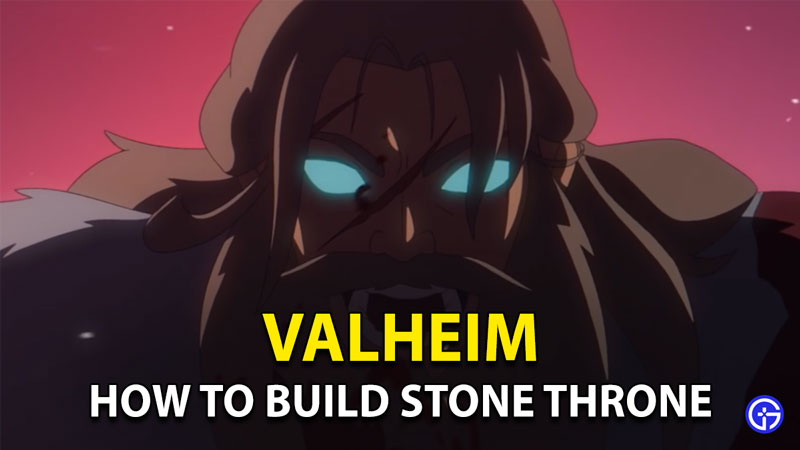 Valheim Stone Throne: How To Build And Craft In Hearth & Home Update
