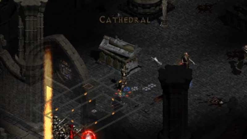 cathedral location diablo 2 resurrected