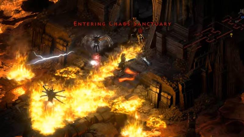 chaos sanctuary diablo 2 resurrected