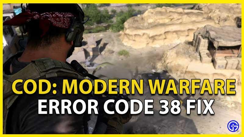 cod-modern-warfare-error-38-fix