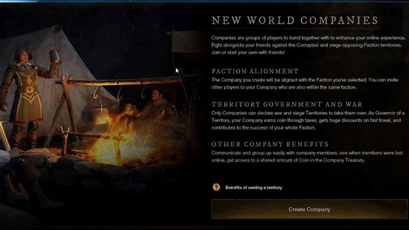 company benefits new world