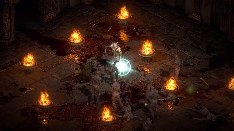 what do shrines do in diablo 2 resurrected