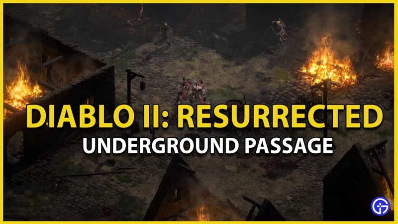 diablo 2 underground passage