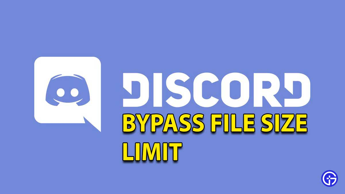 Discord Bypass File Size Limit
