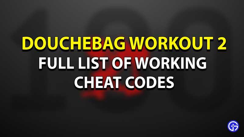 Douchebag 2 Cheats Codes Guide