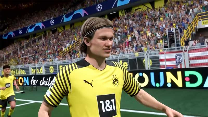 erling haaland fifa 22 best young player