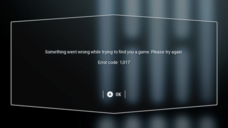 error code 1017