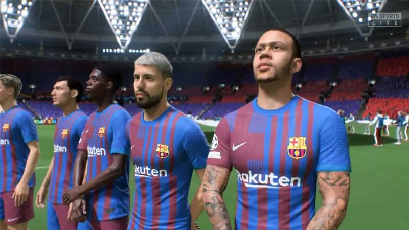 fc barcelona fcb career mode fifa 22