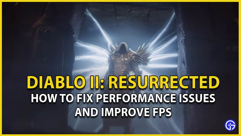 fix improve diablo 2 fps performance