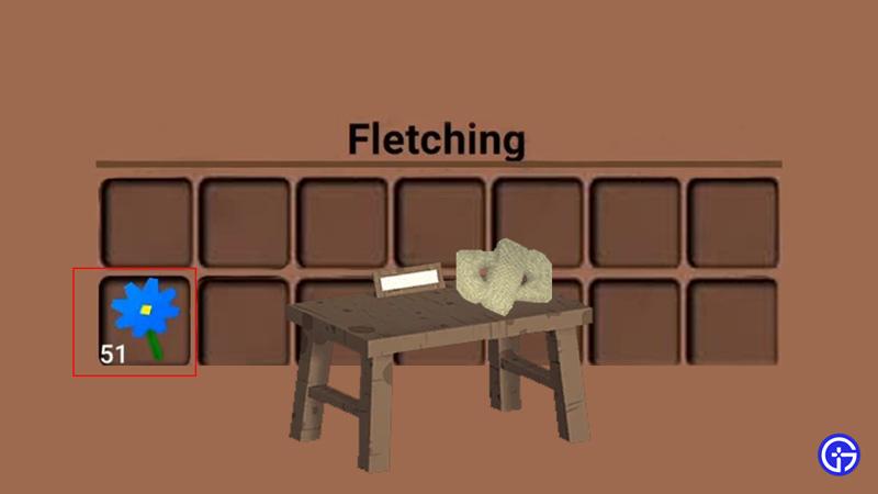 fletching table flex fibers