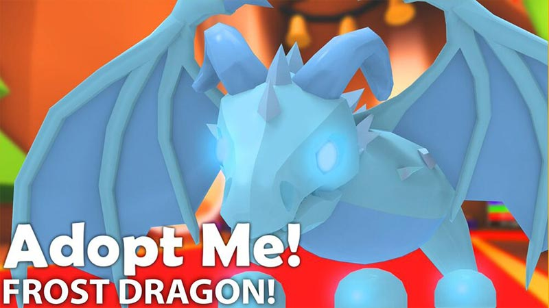 frost dragon roblox adopt me