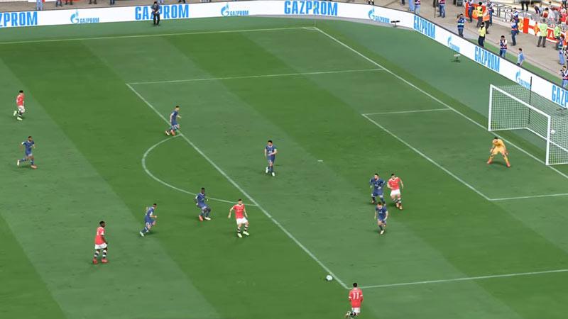 ground pass fifa 22