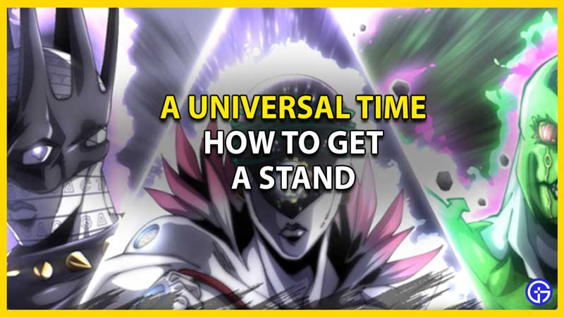 a universal time stand