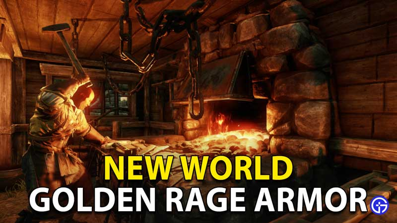 New World Golden Rage Armor: How To Get And Claim Twitch Drop?