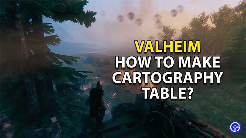 how to make and use cartography table valheim