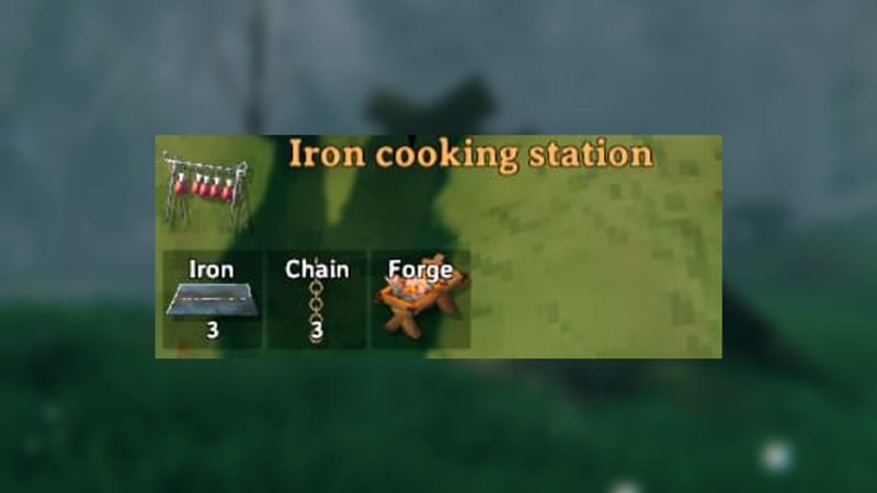Iron Cooking Station Valheim | Hearth And Home Update Cooking Guide