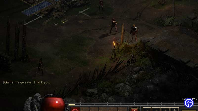 how to heal and revive mercenary diablo 2 resurrected