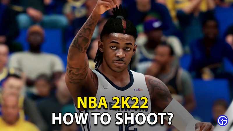how to shoot nba 2k22
