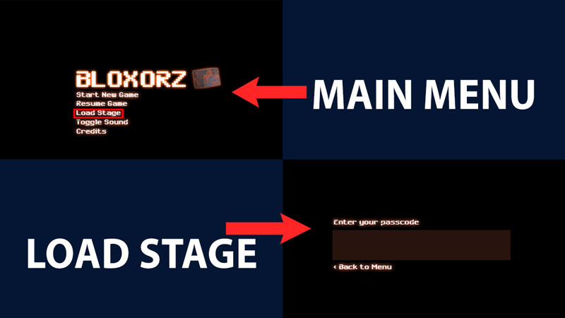 load stage