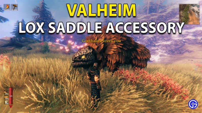 Valheim Lox Accessory: How To Craft And Use Saddle?