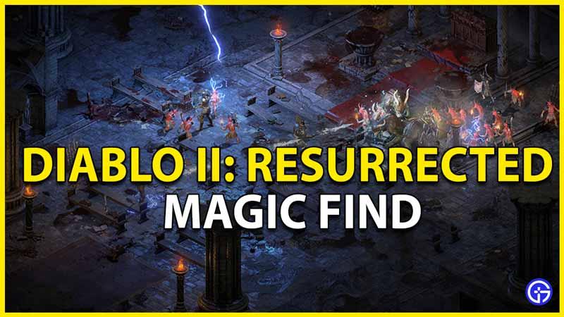 magic find diablo 2